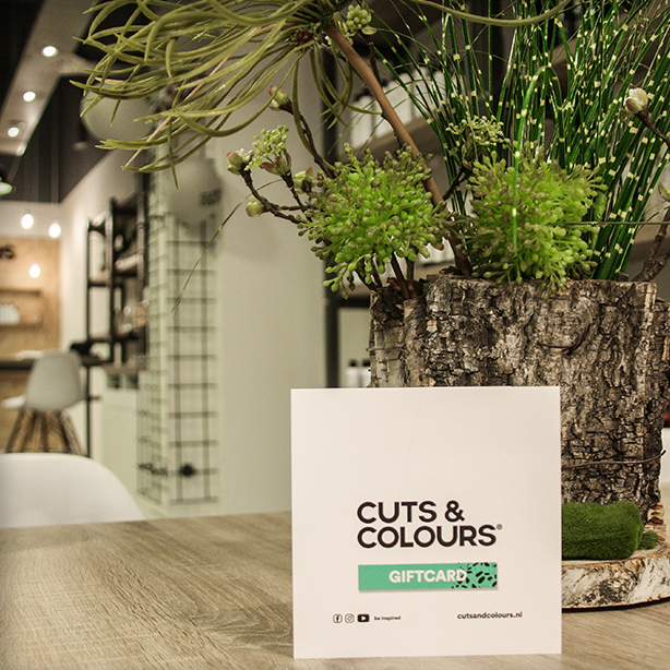 Cuts & Colours | Giftcard